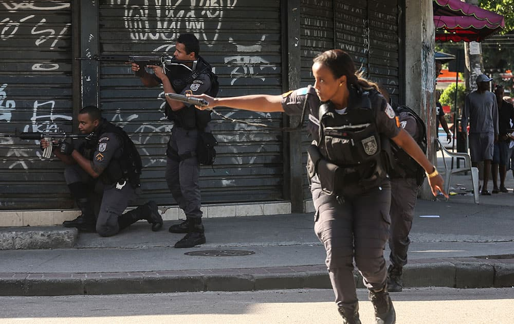 Seven Killed In Police Operation In Rio's City Of God Favela