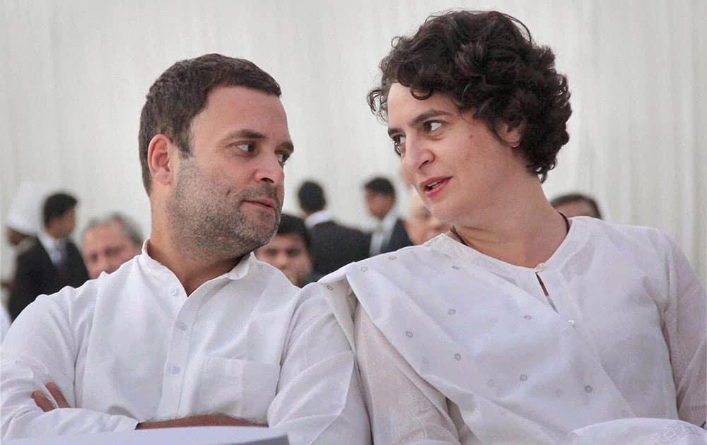 Indira Gandhi's 100th birth anniversary celebration