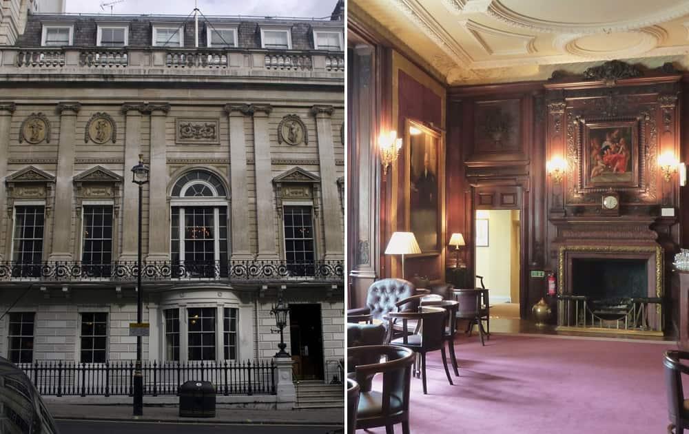 White's Gentleman Club, England