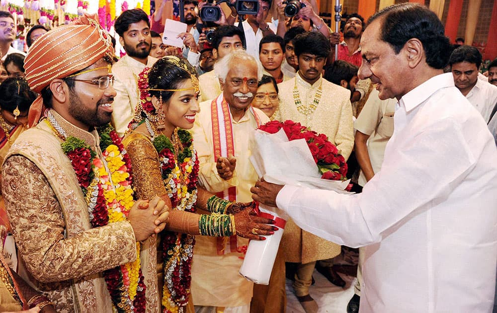 Wedding of Bandaru Dattatreya's daughter
