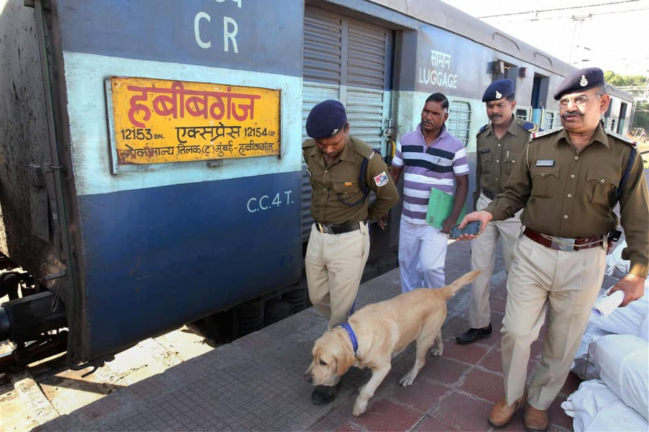 Bomb scare in Bhopal