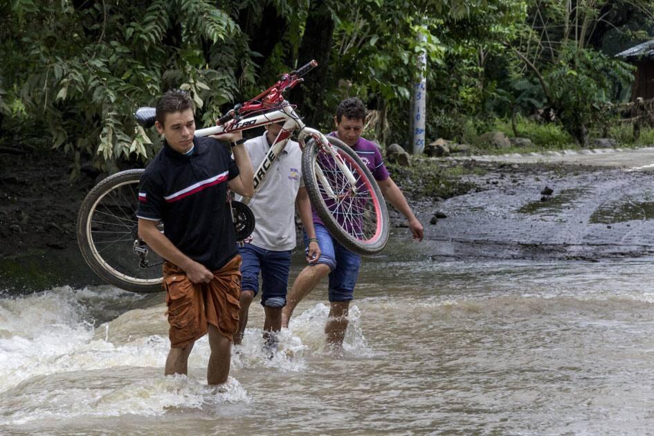 Hurricane Otto in Cardenas, Nicaragua