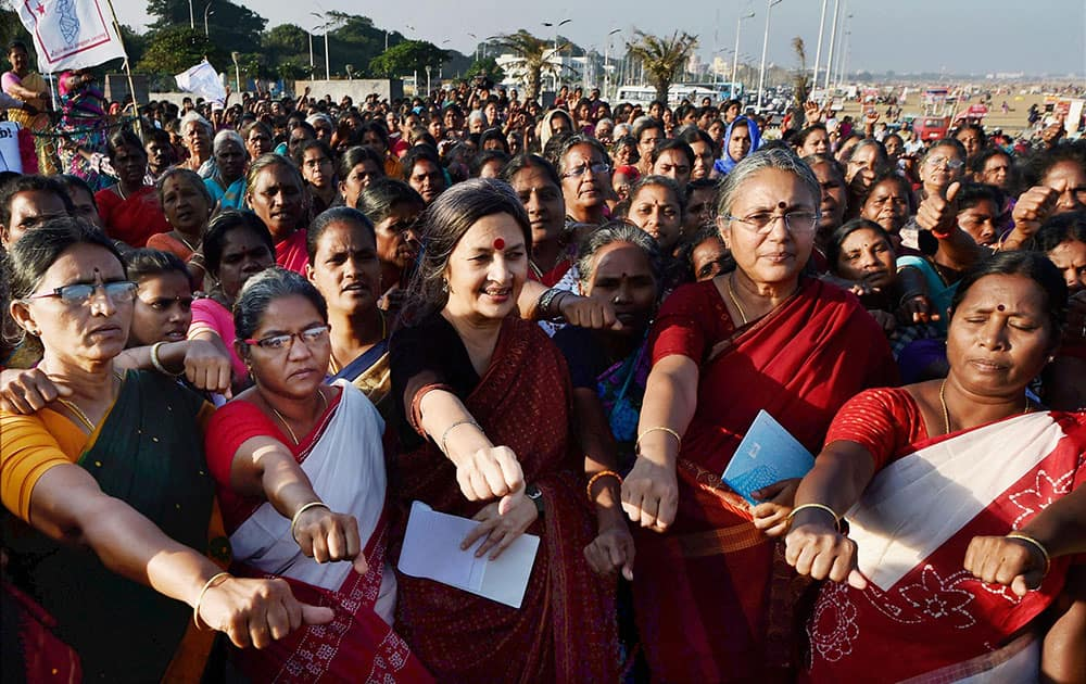 Brinda Karat in Chennai
