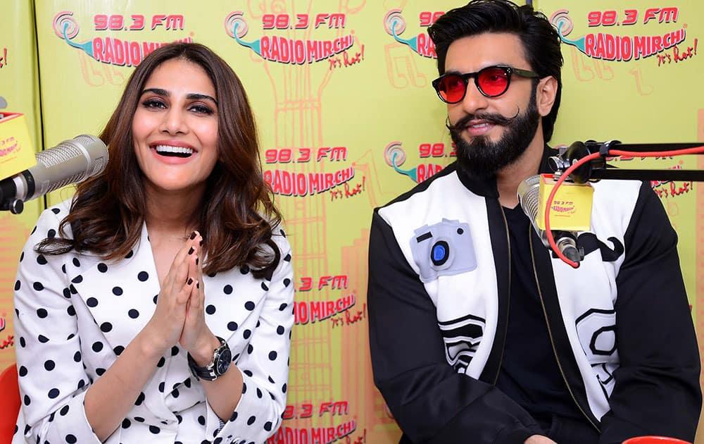 Ranveer Singh and Vani Kapoor