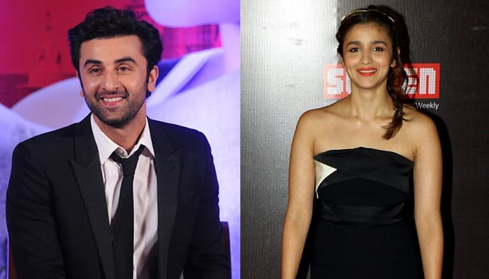 Ranbir Kapoor, Alia Bhatt start shooting for superhero drama 'Dragon'! Pic inside