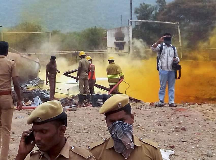 Blast in Murugampatti