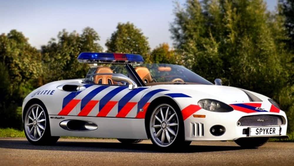 Spyker C8 Spyder (Netherlands)
