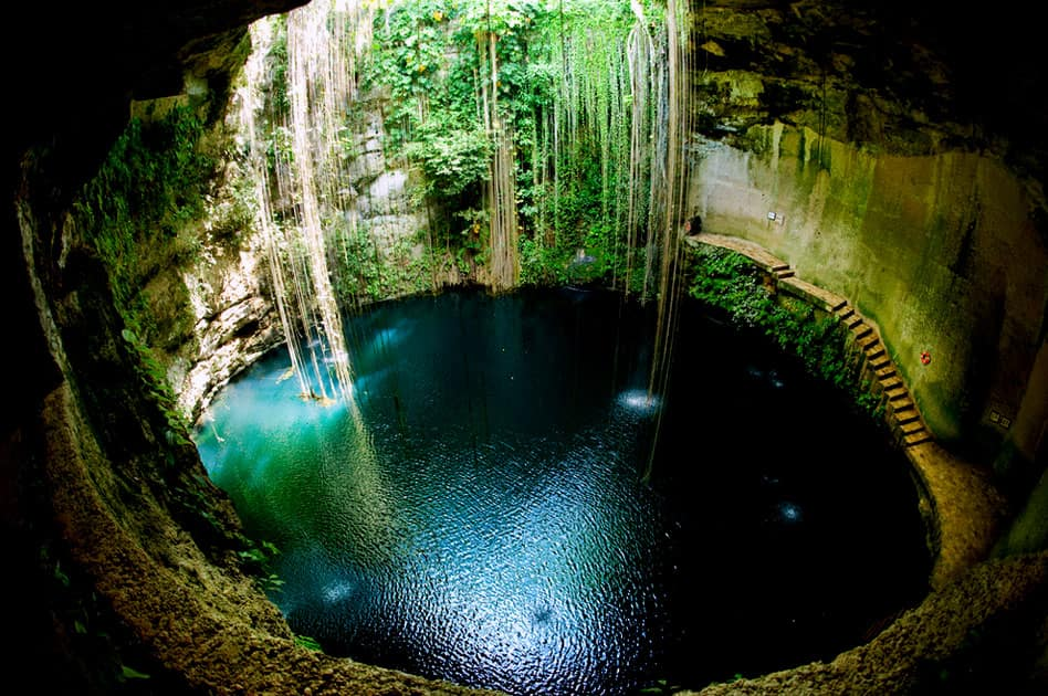 Cenote, Underground Natural Spring in Mexico