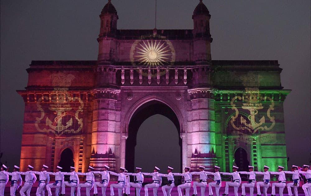Navy Day celebration in Mumbai