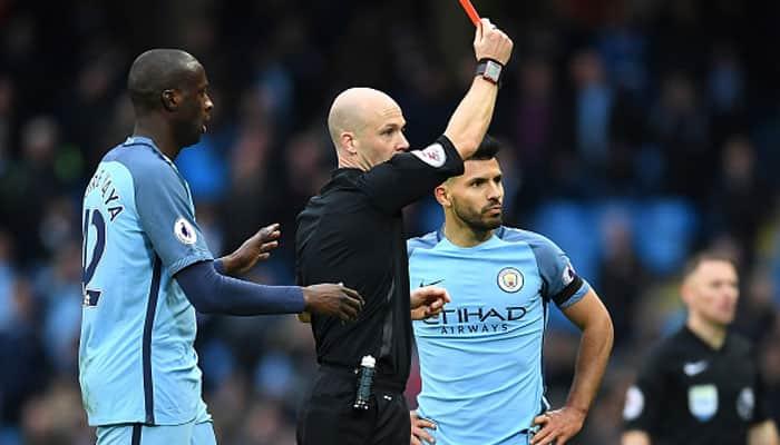 Confirmed! Manchester City striker Sergio Aguero's four-match ban
