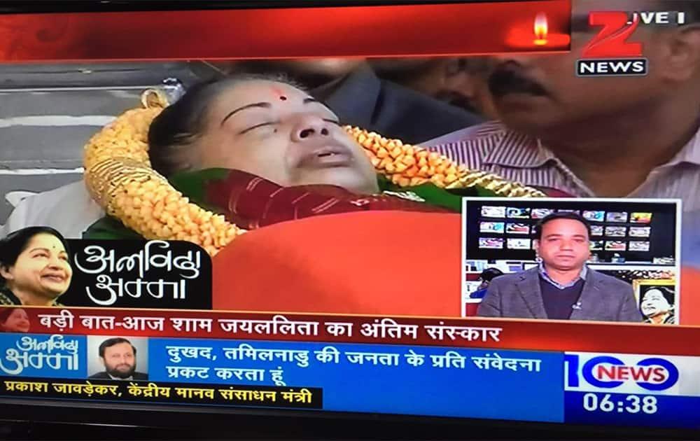 RIP Amma: India mourns Jayalalithaa's demise