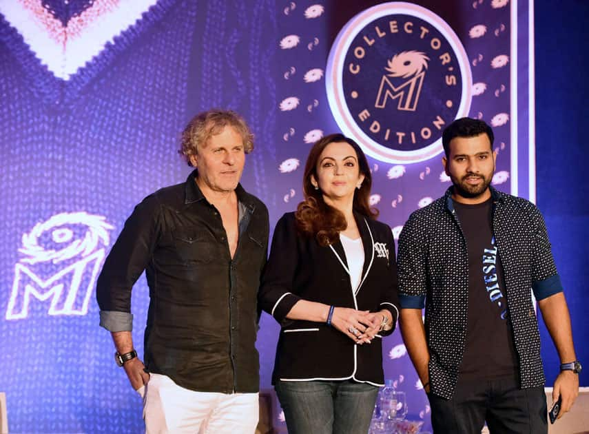 Mumbai Indians partners with Diesel