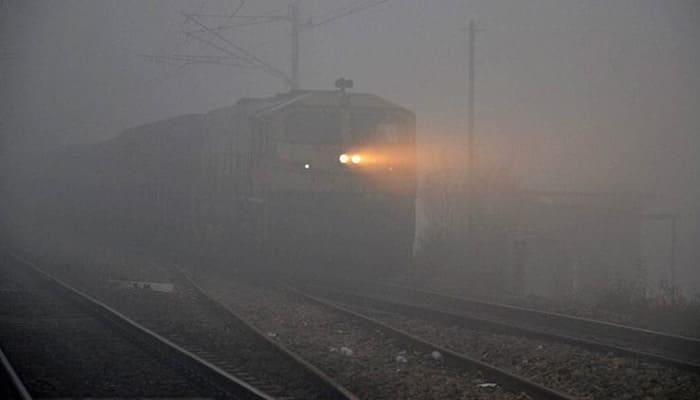Dense fog hits rail traffic in North India; 94 Delhi-bound trains running late