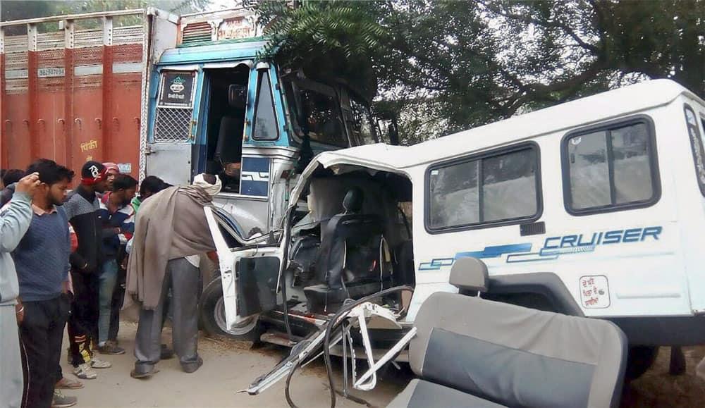 Accident in Ferozepur