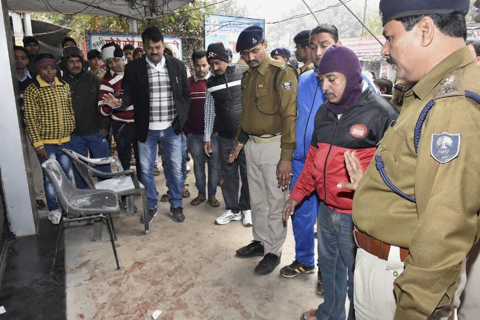 murder of a security man in Patna