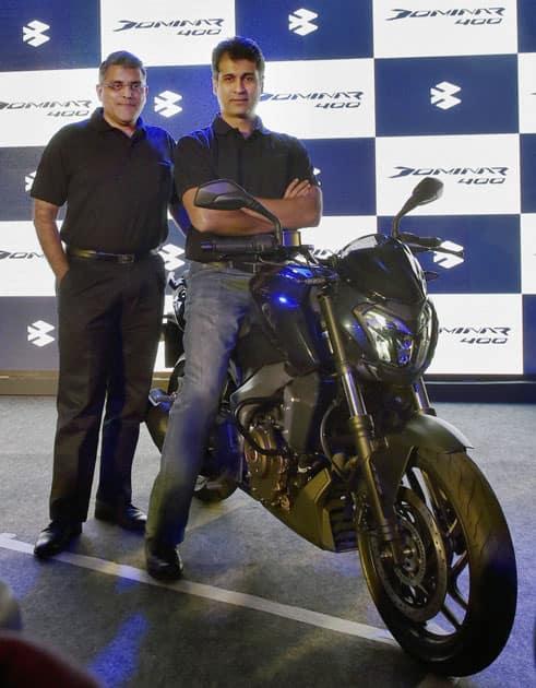 Launch of Bajaj Dominar400 bike