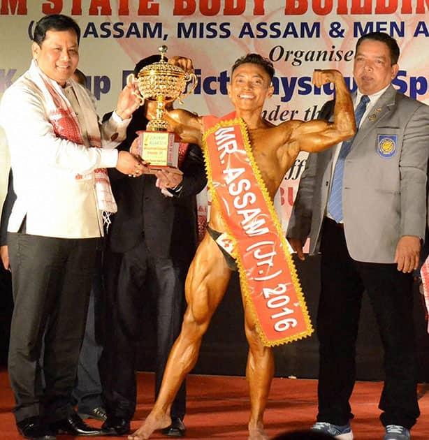 44th Assam State Bodybuilding Championship 2016