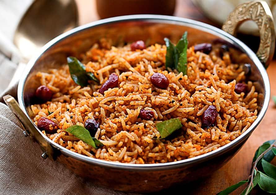 Tamarind Rice/Puliyogare