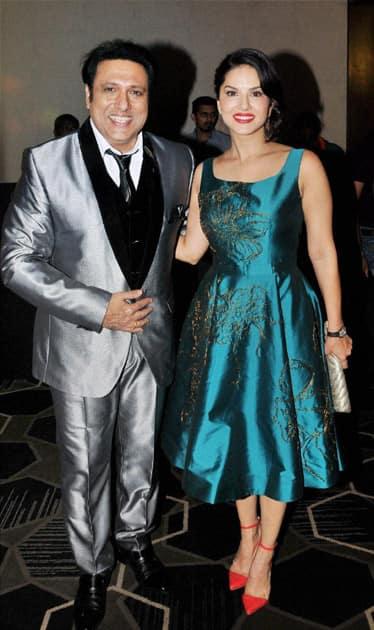 Govinda with Sunny Leone