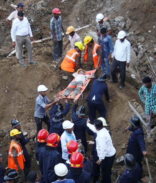 Landslide in Mumbai