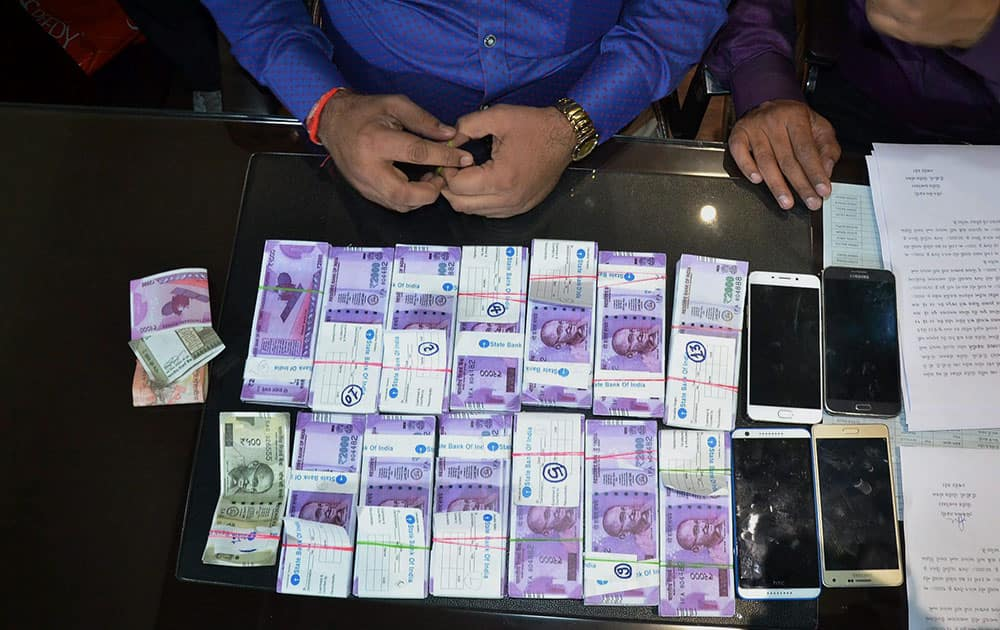 Fake currency notes seized in Rajkot