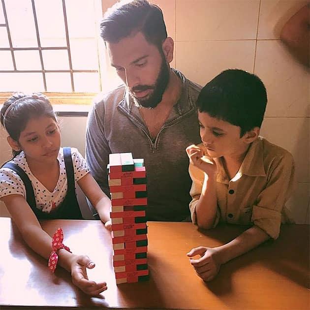 Yuvraj Singh - Educate a child today help build them a tomorrow
