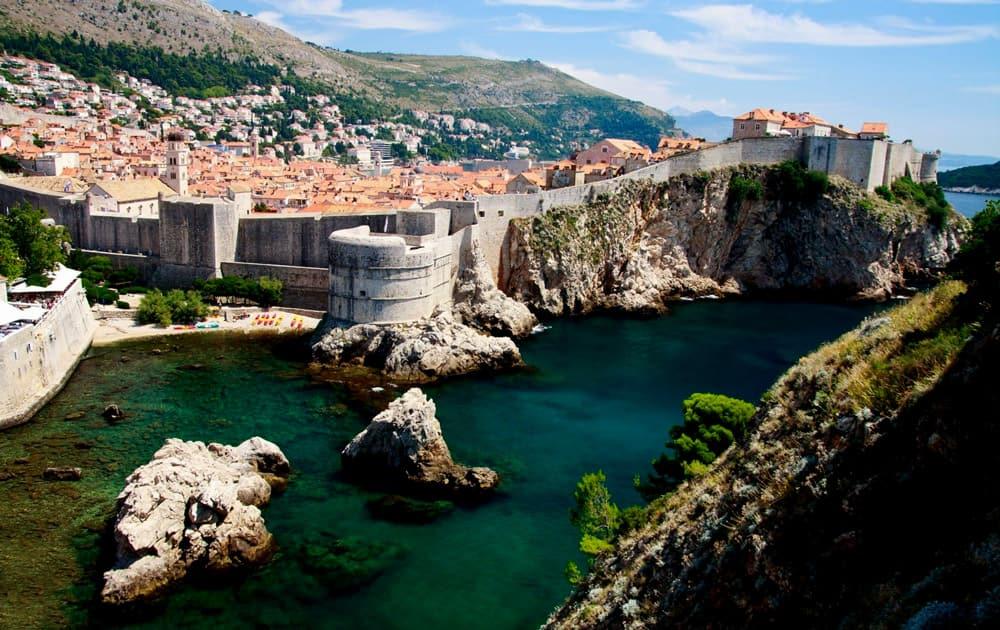Ancient City Walls, Dubrovnik, Croatia