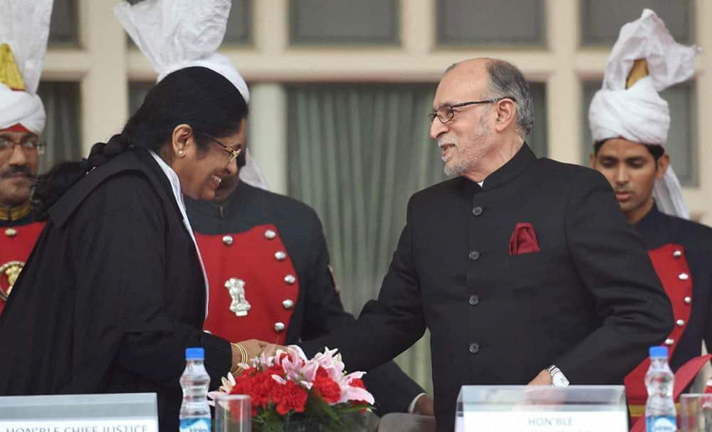 Anil Baijal sworn is as Lieutenant Governor