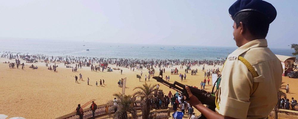 New Year celebrations in Goa