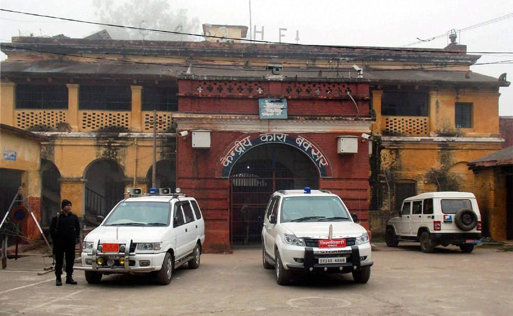 Five prisoners escaped from Buxar jail