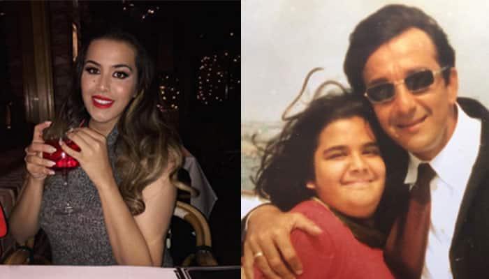 Sanjay Dutt's daughter Trishala just shared a throwback ...