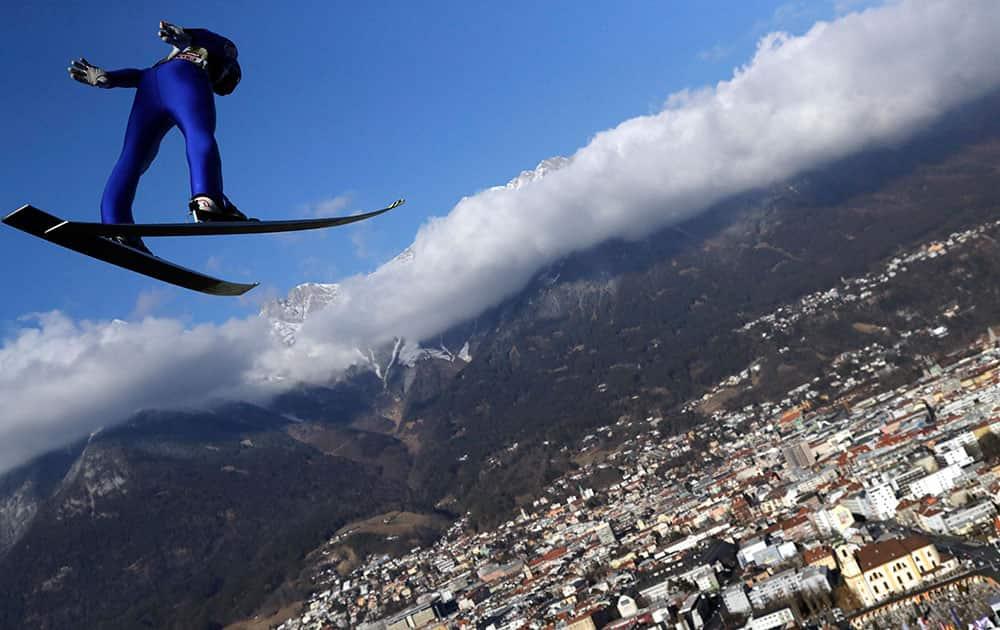65th four hills ski jumping tournament