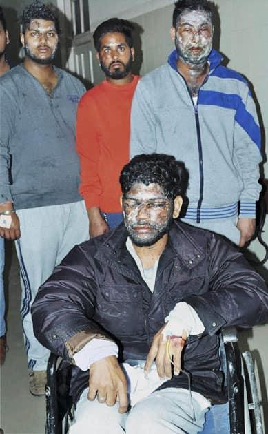 Acid attack in Patiala