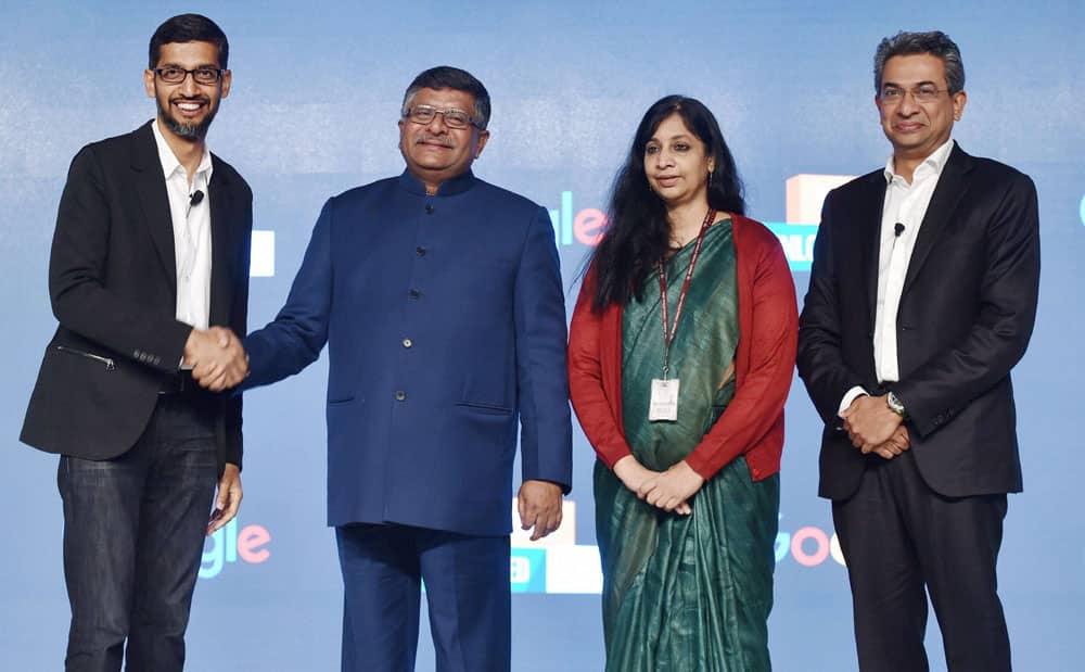 Google India event in New Delhi