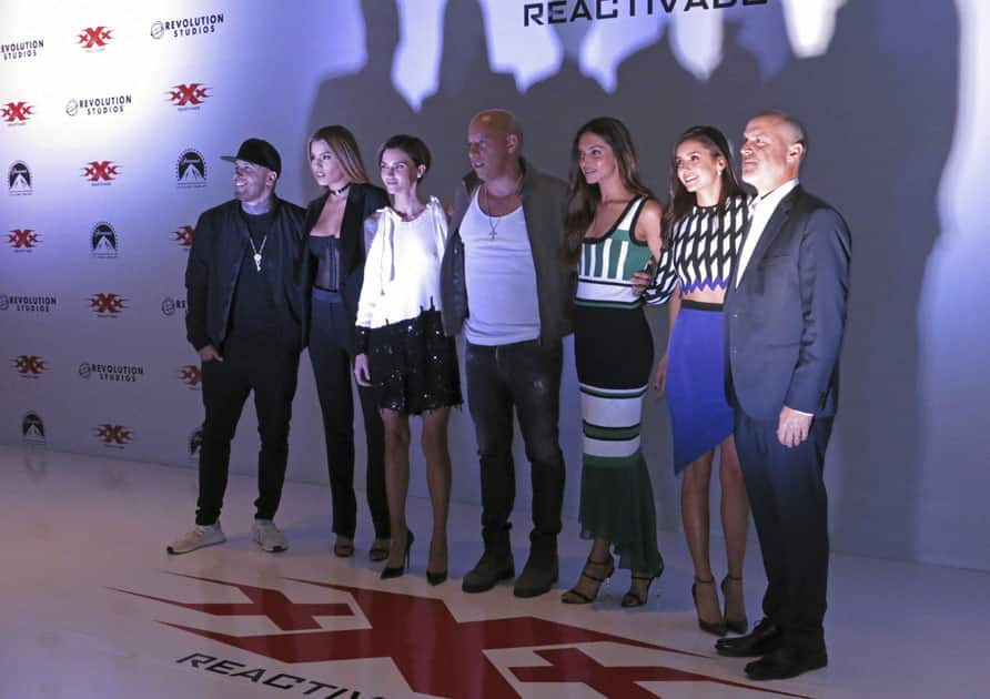Actors from the film, xXx: Return of Xander Cage