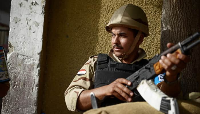 Nine terrorists killed, 16 others injured as army foils attack in Egypt