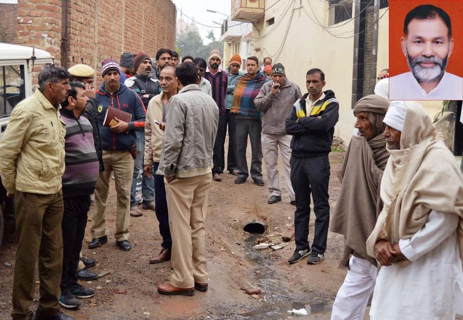 Ex- service man shot dead Badshahpur