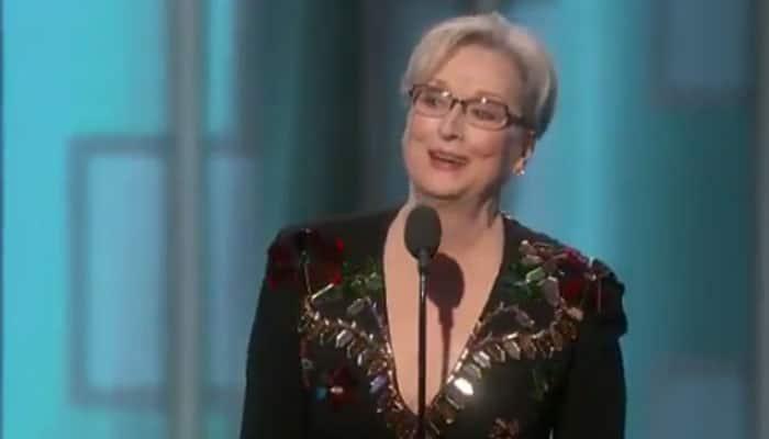 Golden Globe Awards: Meryl Streep slams Donald Trump during her acceptance speech