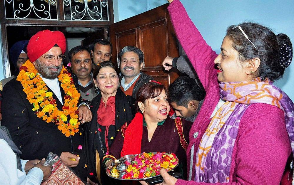 Gen. J.J Singh campaigns