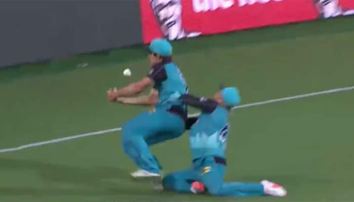 Brendon McCullum survives nasty on-field collision — VIDEO
