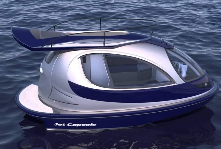 Jet Capsule yacht