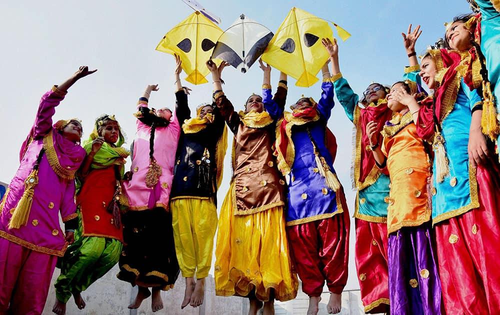 Lohri festival in Amritsar