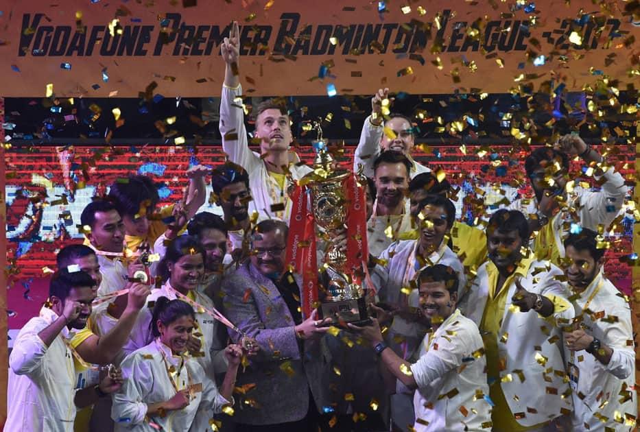 Indian Premier Badminton League,II 2017
