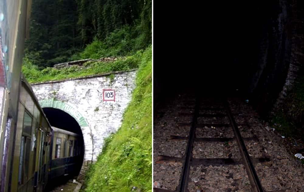 Kalka-Shimla Railway Tunnel 103