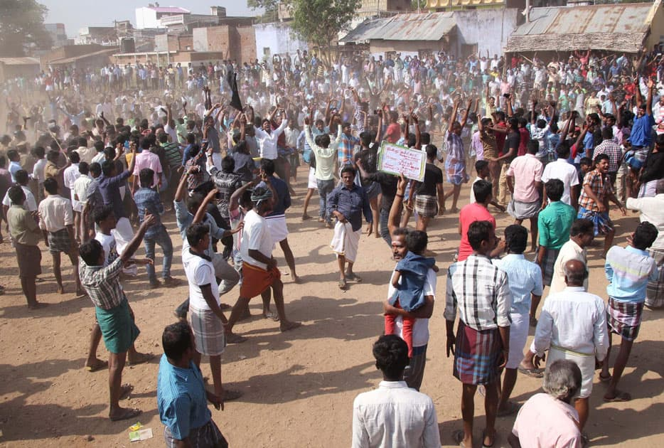 Jallikattu event organised despite ban