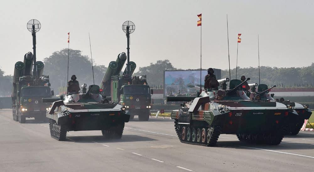 Army Day parade 2017