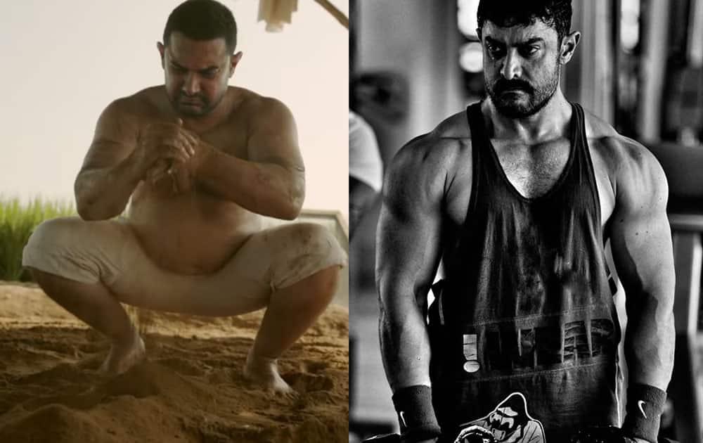 Aamir Khan for Dangal