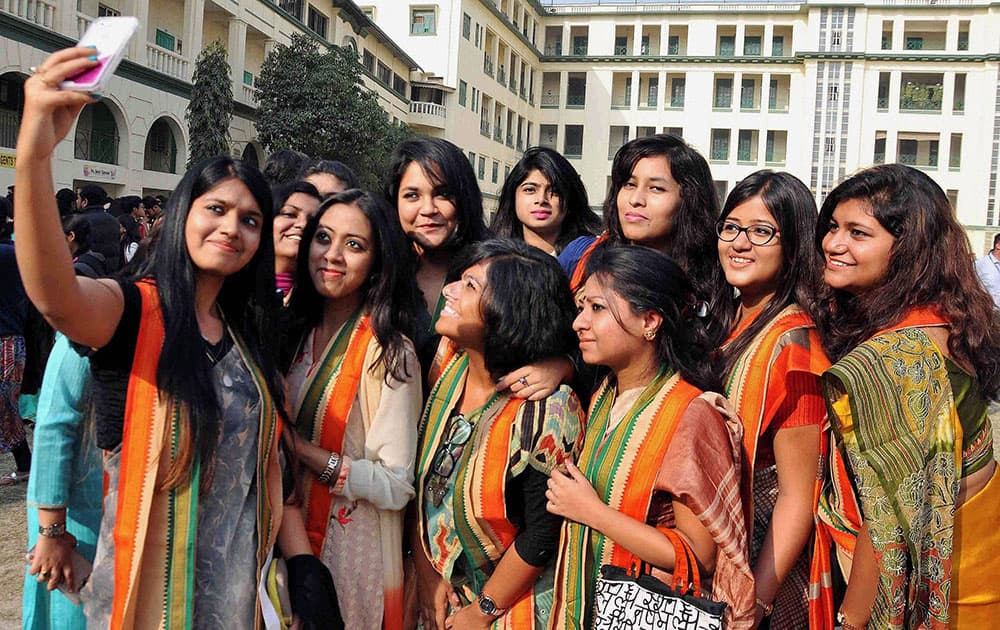 Convocation at St.Xaviers College