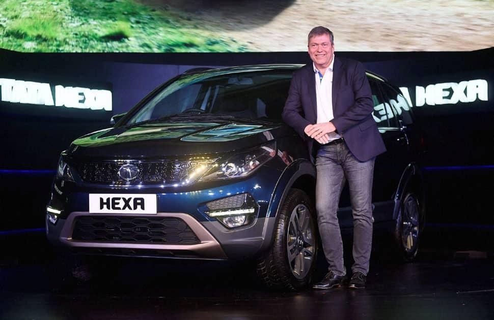 Launch of Tata Hexa in Mumbai