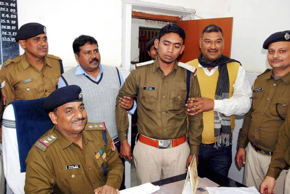 Bogus inspector arrested